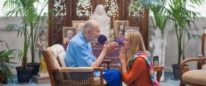 Swami Kriyananda Blessing Elizabeth